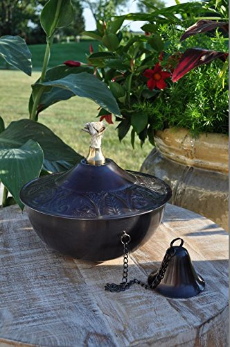 Maui Grande Tabletop Torch, Pewter