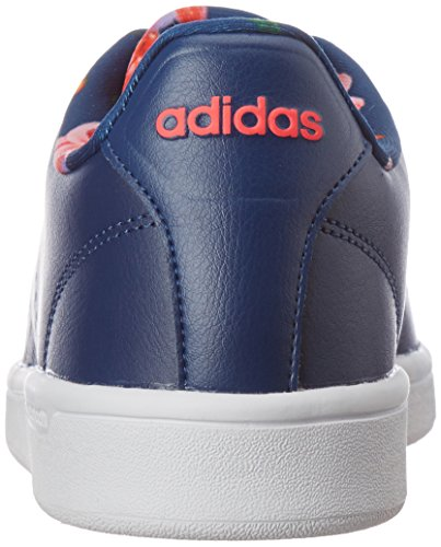 Sneakers shored Femme Adidas Basses Cloudfoam Bleu mysblu mysblu Advantage axI6E8