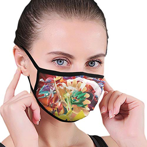 Dean Carnegie Po_kk¨¦n Tour_nament D-X Face Mask Adjustable Mouth Mask Anti Dust Face Mouth Mask Reusable Mask for Cycling Camping Travel