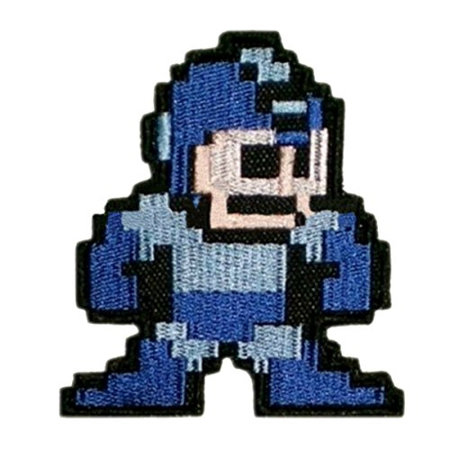J&C Family Owned Application Megaman Theme Cosplay Applique Patch Great gift for Parties, Decoration. Or (Megaman Cosplay Costume)