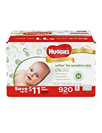 Huggies Natural Care Baby Wipe Refill, Unscented (920 Count) BOBEBE Online Baby Store From New York to Miami and Los Angeles