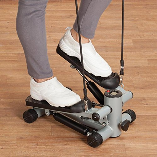 EasyComforts Seated Stepper with Resistance Bands
