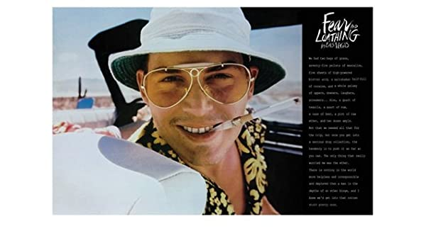 FEAR and LOATHING POSTER Rare Hot New 24x36