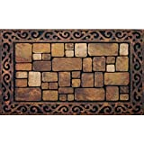 Masterpiece Aberdeen Door Mat, 18-Inch by 30-Inch