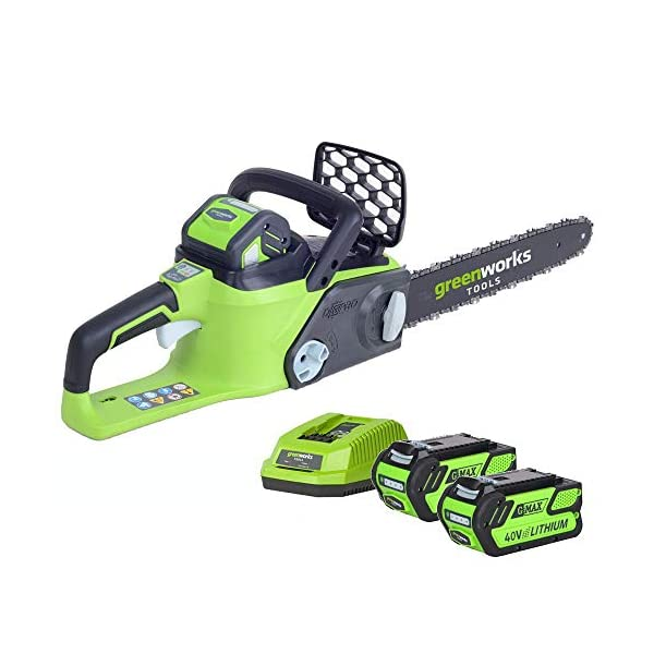 Greenworks-G-MAX-40V-Brushless-Chainsaw-with-2-x-2Ah-batteries-and-charger-GWGD40CS40K2X