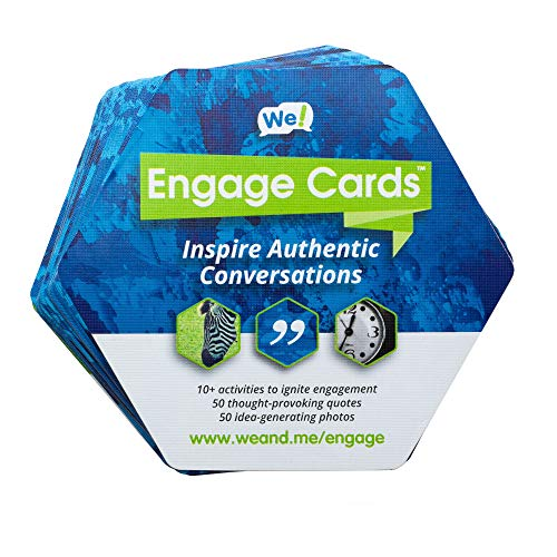 (We! Engage Cards Icebreaker Quotes Trust Building Games, Team Building Activities, Conversation Starters for Meetings and New Relationships (36)