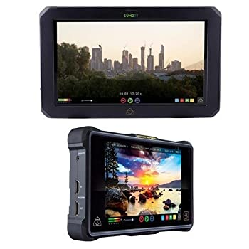 "Atomos Sumo 19"" Touchscreen On-set & In-studio 4k Hdr Monitor Recorder, 1920x1200 - With Atomos Shogun Inferno All-in-one Monitor Recorder 0"
