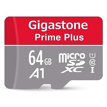 Amazon.com: Gigastone - Tarjeta micro SD MicroSD HC U1 C10 ...