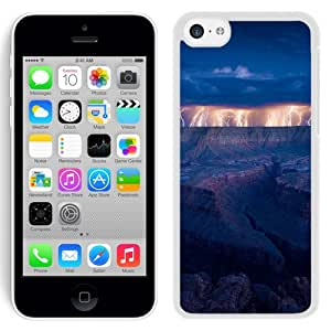 New Beautiful Custom Designed Cover Case For iPhone 5C With Grand Canyon Lightning (2) Phone Case