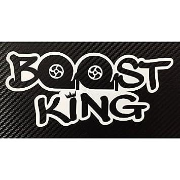 Boost King JDM Turbo Style Decal Sticker Custom DieCut Vinyl Hella - Acura stickers