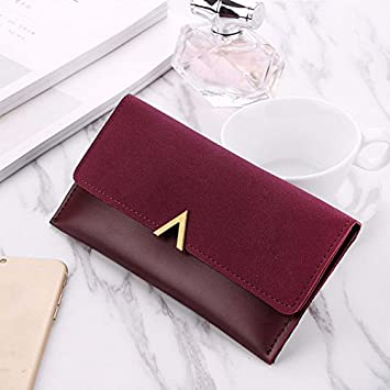 Gold Happy 2018 New Female Wallet PU Leather Women Wallets Ladies Long Design Hasp Zipper Purses