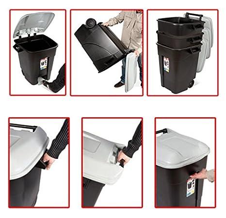 Am /Container von Abf/ällen ECO Kunststoffregal 100/L C//Pedal Tayg/