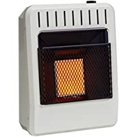 Avenger FDT1IR Dual Fuel Vent Free Infrared Heater, Thermostat, 10,000 BTU