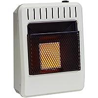 Avenger FDT1IR Dual Fuel Vent Free Infrared Heater, Thermostat, 10,000 BTU