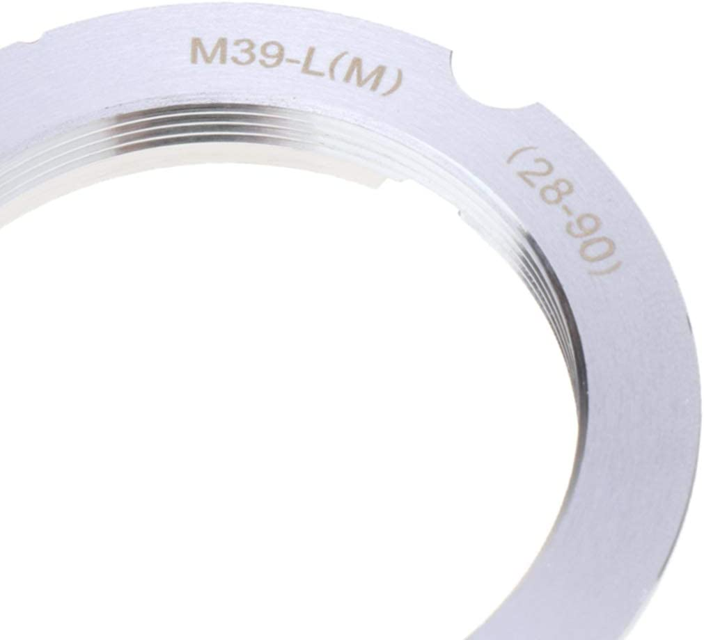 Camera Lens Mount Adapter Ring for Leica M39 L39 L Lens to LM 28-90 M39