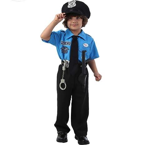 XBSD Disfraces de Fiesta, Disfraz de policía para niños ...
