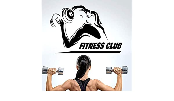 yiyiyaya Mancuernas Nombre del Gimnasio Etiqueta Chica Fitness ...