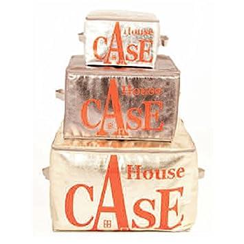Bensimon - House Case de rangement SHINNY - Taille M - Couleur Gris ...