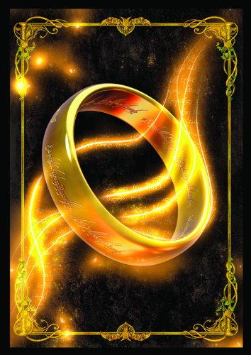 Lord of the Rings Art Sleeves: The One Ring - Unlimited Edition (50 Sleeve Pack) (Lord Of Rings Rings)