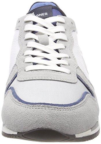 Bogner Herren New Rome 1 Sneaker Grau (Grey/White)