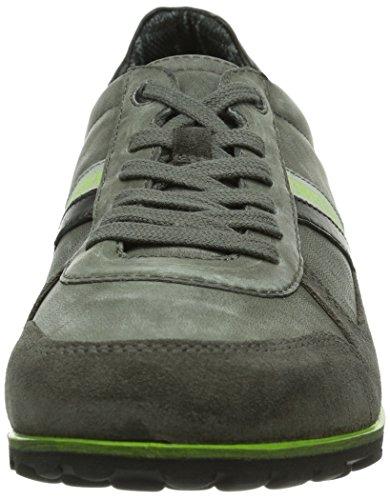 Grau Sneaker Grigio a 641026 Grau basso Bikkembergs collo Uomo 0Z1nxa