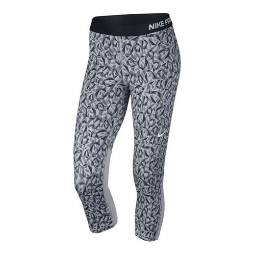 Nike Damen Trainingscaprihose PRO COOL CAPRI FACET: Amazon