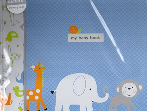 Carter's Baby Boy Memory Book, First Five Years of Memories and Milestones