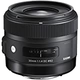 Sigma 30mm f/1.4 DC HSM Lens for Nikon APS-C DSLRs