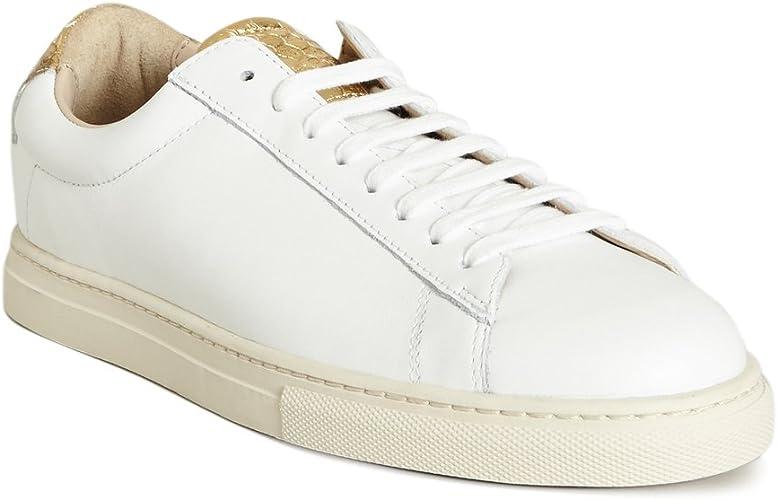 Zespa Womens Sneakers Gold Size: 5