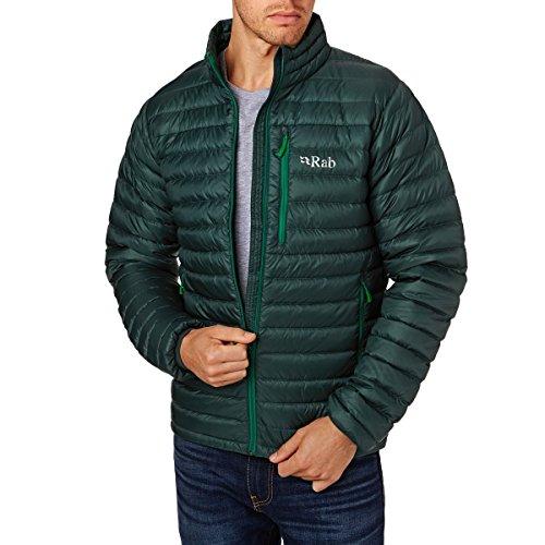 RAB Chaqueta Microlight Alpine, Hombre Evergreen/ Grenn