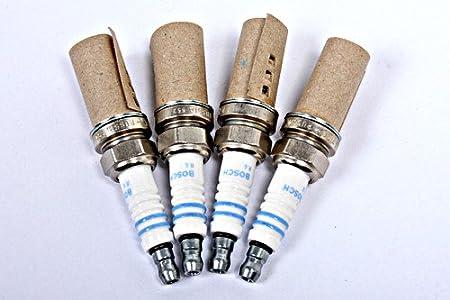 Bosch - FR7DC - 0 242 235 666 - Juego de 4 bujías originales: BOSCH: Amazon.es: Coche y moto