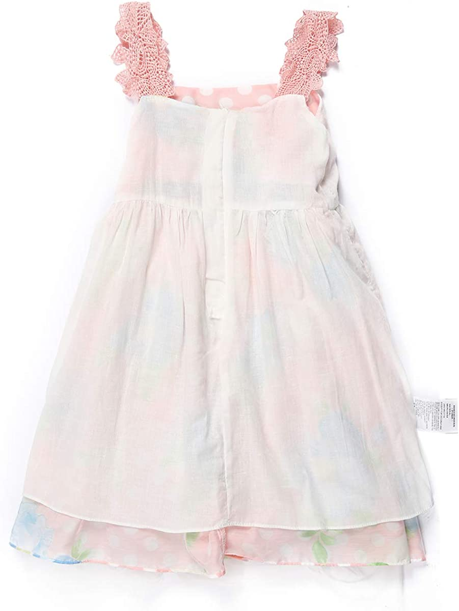 SPEINY Girls Holiday Dress Print Sleeveless Casual Kids Summer Clothes 3-11T