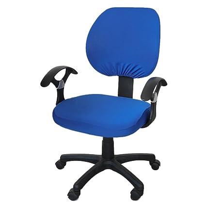 QUUY Fundas para sillas de Oficina, Fundas Protectoras y estirables ...