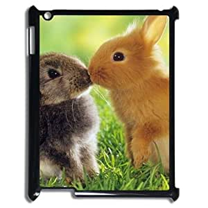 DIY rabbit Case, DIY Case for ipad2,3,4 with rabbit (Pattern-2)