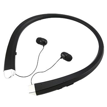 Laurelmartina Auricular Bluetooth Auriculares estéreo Auriculares inalámbricos Retráctiles Auriculares: Amazon.es: Electrónica