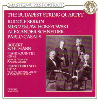 Schumann: Piano Quintet, Op. 44/Piano Trio, No. 1 Op. 63 (Masterworks Portrait)