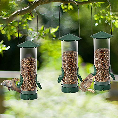 Twinkle Star Hanging Bird Feeder 3 Pack
