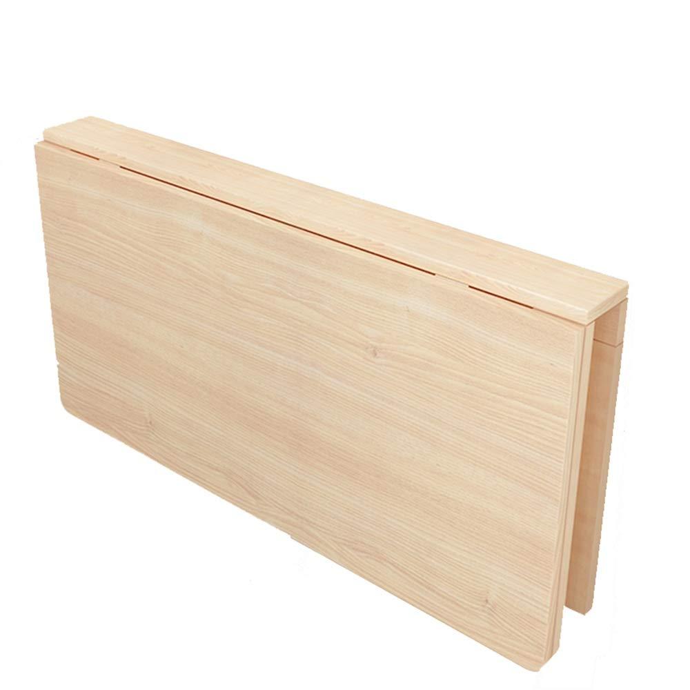 YNN ポータブルテーブル 折りたたみテーブル壁掛け式ドロップテーブルテーブルダイニングテーブルコンピュータデスクキッチン収納テーブル (サイズ さいず : 120*60cm) 120*60cm  B07PDCJHRH