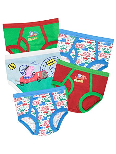 Peppa Pig George Pig Boys' George Pig Underwear Size 3T -