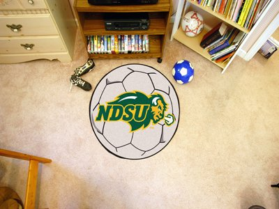 Dakota Soccer Ball Rug - North Dakota State Soccer Ball