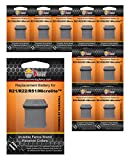 Invisible Fence Collar Replacement Battery - New Improved Duracell Powered Ultra Life Battery Invisible Fence Brand Electric Dog Fence Collars (R21, R22, R51, Microlite, Computer Collar) - 10 Pack