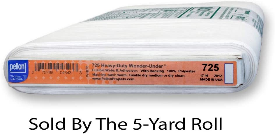 Pellon Heavy Wonder Under Fusible Transfer Web 725P 5 Yards