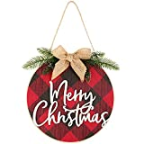 Merry Christmas Decorations Buffalo Check Plaid