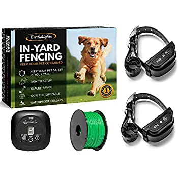 Amazon Com Covono Electric Dog Fence Upgraded In Ground