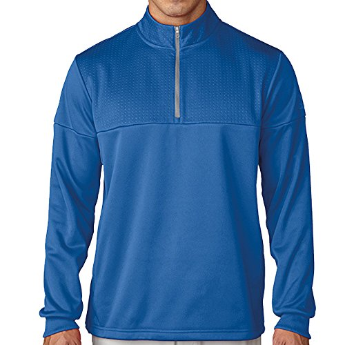 Adidas ClimaWarm Textured Dot 1/2 Zip Layering Golf Pullover 2016