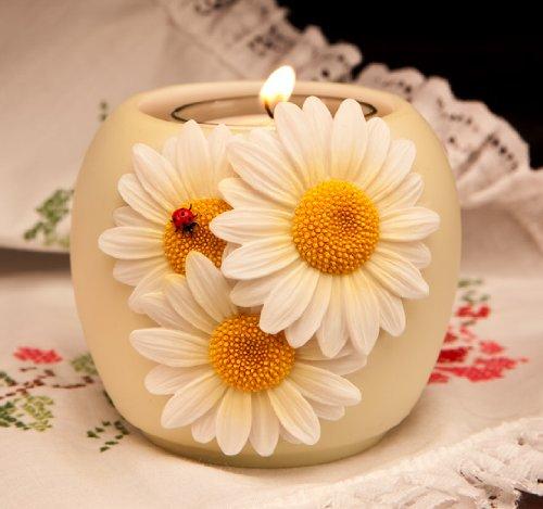 Ladybug Daisies Votive (Daisy Votive Holders)