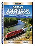 Great American Scenic Railroads DVD 3 pk.