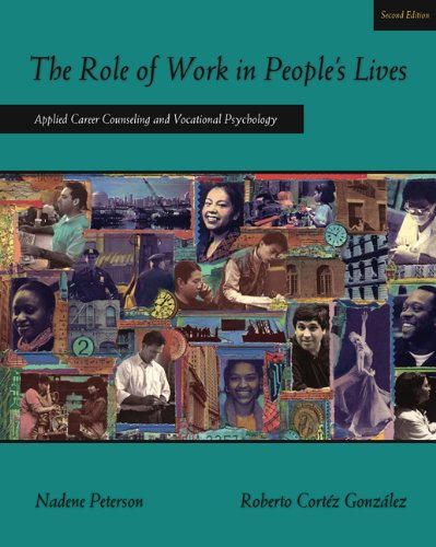 Pdf Teaching The Role of Work in People's Lives: Applied Career Counseling and Vocational Psychology (Graduate Career Counseling)