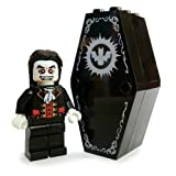 Lego Vampire with Coffin (Dracula) - Lego Halloween Minifigure