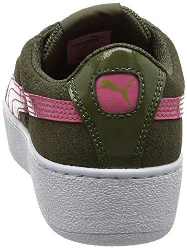Vikky Femme Vert Basses Night Platform Puma rapture olive Baskets Rose gAwRvRnq
